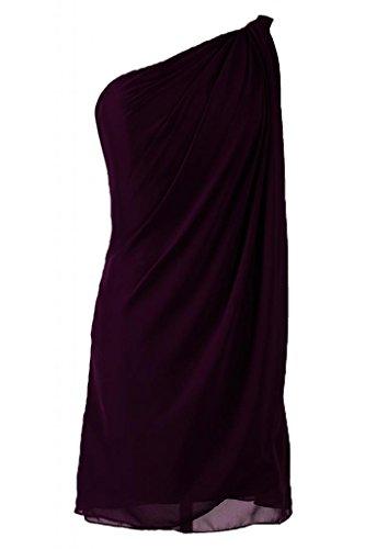 Sunvary Kurze Chiffon Neu Festlich Damen Abendkleid Cocktailkleider Grape