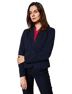 Marks & Spencer Women's Blazer (1550J_Navy_10)