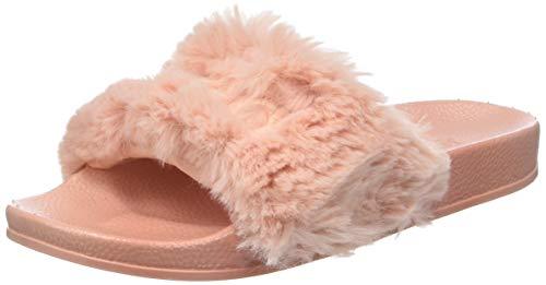 Victoria sandalia pala pelo, pantofole donna, rosa (pink 42), 37 eu
