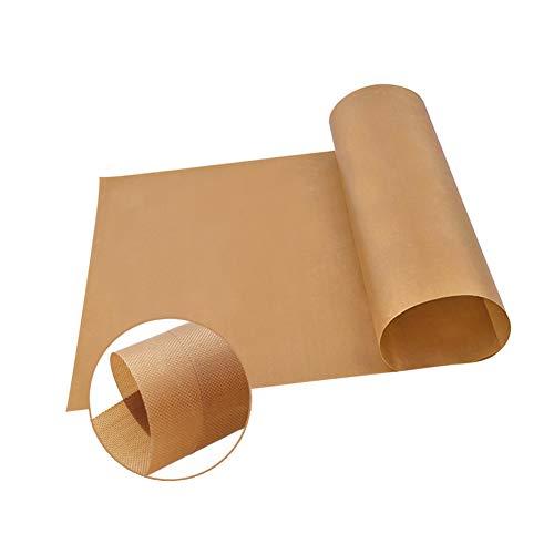 Xiedeai Backzubehör Backunterlage Backpapier - Backfolie Backmatte Grillmatte Wiederverwendbar Antihaftbeschichtete Hitzebeständig 2 Stück