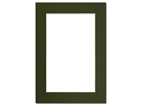 Accent Design Framing Mat ADF Matte 5x 7/4X 6crmcore Hunter Grün - Hunter Green-zubehör