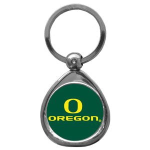 Oregon Ducks Chrome Key Chain 3 PACK