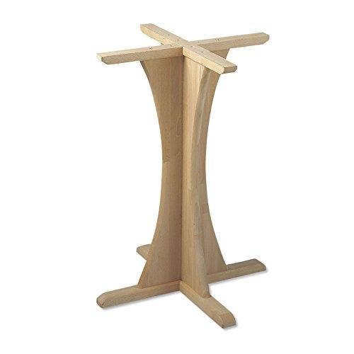 Tischgestell Tischsäule Fichte Höhe 710 mm