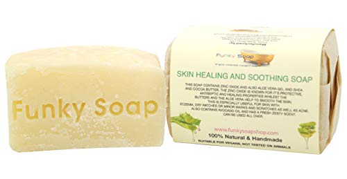 1 piece Skin Healing and Soothing Soap 100% Natural Handmade aprox.120g