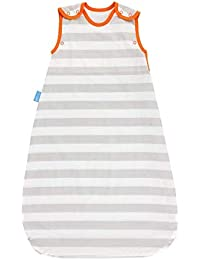 6-18 Months Grobag Insect Shield 6 to 18 Months 05 Tog Grey Stripe