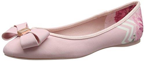 Ted Baker Damen Immep 2 Geschlossene Ballerinas Pink (Palace Gardens #ffc0cb)