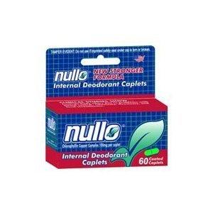 Nullo Internal Deodorant Caplets - 60 Each - 1 pack by LEE PHARMACEUTICAL CO.