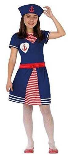 Fancy Me Mädchen Marine Seemann Streitkräfte Karneval Halloween Weltbuch-Kostüm Kostüm Outfit 3-12 Jahre