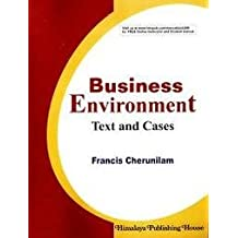 business environment francis cherunilam free ebook download