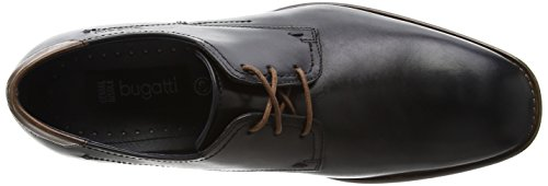 Bugatti - 311129011000, Schwarz Chaussures À Lacets Pour Homme (schwarz 1000)