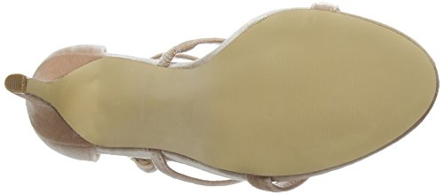 Miss Selfridge - Barley There, Strap alla caviglia Donna Off-White (Nude)