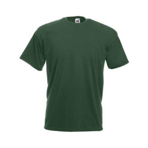 fruit-of-the-loom-maglietta-100-cotone-uomo-l-verde-bottiglia