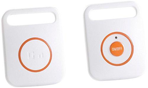 PEARL Pieper für Schlüssel: Digitaler Funk-Schlüsselfinder mit Sender (Schlüsselpieper) -