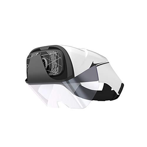 Zero-starting point 3D VR-Headset, Virtual Reality-Headset, 3D-Brille, VR-Brille - für 3D VR-Filmvideospiele, für alle Telefone mit Android/IOS 4.2~5.7-Bildschirm [Ausgabe 2019]