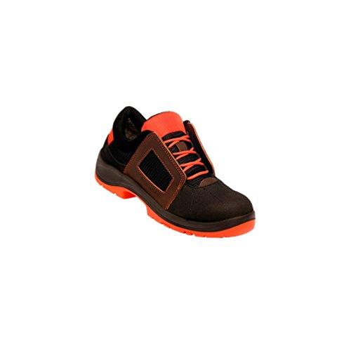 Gaston Mille - Chaussures de sécurité ultra légères et confortables AIR LACE S1P SRC ESD Orange