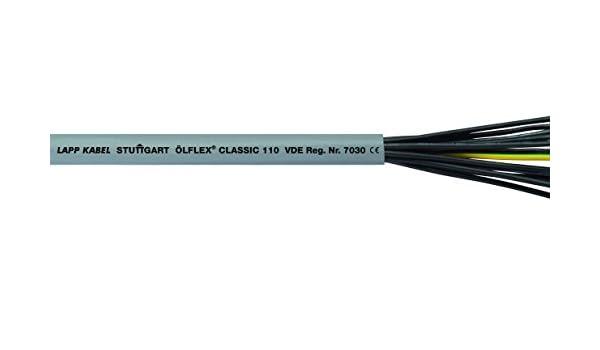 Lapp 1119310 ÖLFLEX CLASSIC 110 10G1,5mm² PVC-Steuerleitung ab 1 Meter