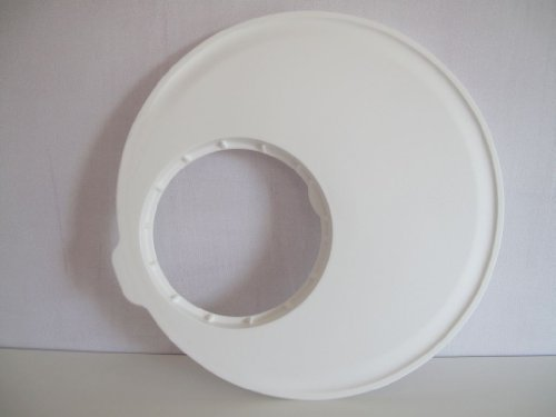 TUPPERWARE Salatschleuder Salat-Karussell-Schneidbrett Weiß D187 Vitamin Plus