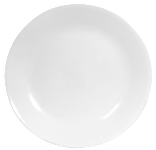 Corelle Winter Frost Dinner Plates, White, 6-Pack