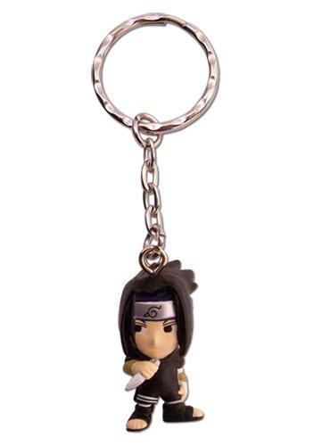 Great Eastern Entertainment Naruto Sasuke 3D SD Schlüsselanhänger