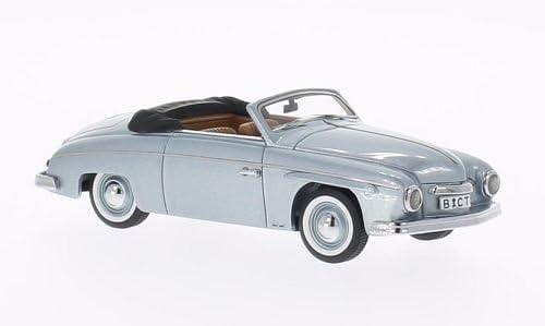 Rometsch Rometsch Rometsch Beeskow cabriolet (VW), metallic-bleu clair, 1952, voiture miniature, Miniature déjà montée, Neo 1:43   Large Sélection  61a9f6
