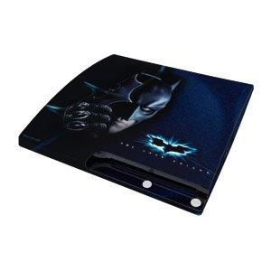 Design Folie Skins Coverfür Sony PlayStation 3 slim - Batman - Dark Knight