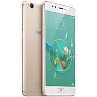 """Nubia M2 lite - Smartphone con pantalla de 5.5"""" (4G, Octa-Core, 64 GB almacenamiento interno, 3 GB RAM, cámara de 13 MP, 1.0 GHz, Android 6.0) color champagne y oro"""