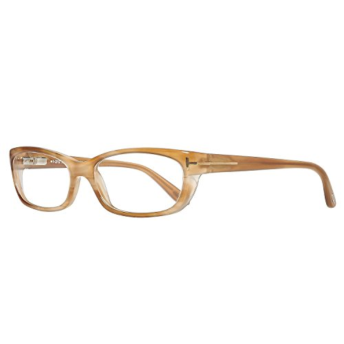 Tom Ford Damen Brille FT5230 024 Brillengestelle, Braun, 55