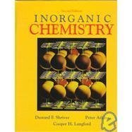 Inorganic Chemistry 2nd edition by Shriver, D.F., Atkins, P.W., Langford, Cooper Haroldold (1994) Hardcover