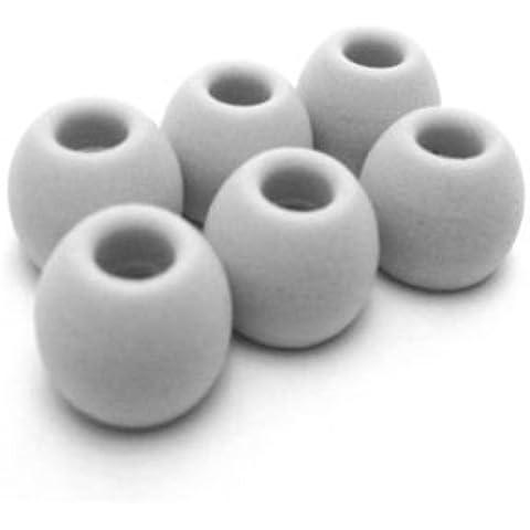 SMD4U gris Hybrid almohadillas de repuesto para Auriculares Sennheiser Cx Ocx de hilo Ie Cxl Mm