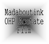 A3 OHP Acetate Transparency Film For Inkjet Printers 10 Sheets Test