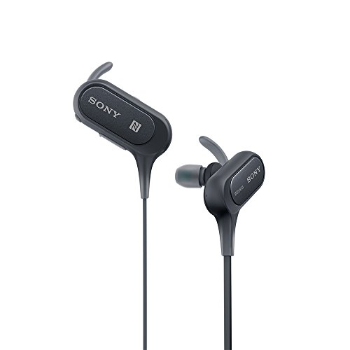 Sony Extra Bass MDR-XB50BS in-Ear Active Sports Wireless Headphones (Black) Image 2