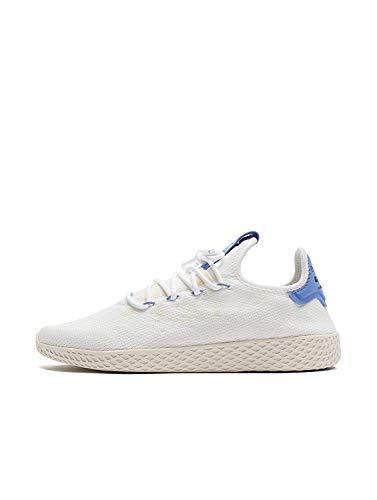 adidas Herren Pw Tennis Hu Fitnessschuhe, Mehrfarbig (Ftwbla/Lilrea/Blatiz 000), 45 1/3 EU (Männer Tennis-schuhe Adidas Für)