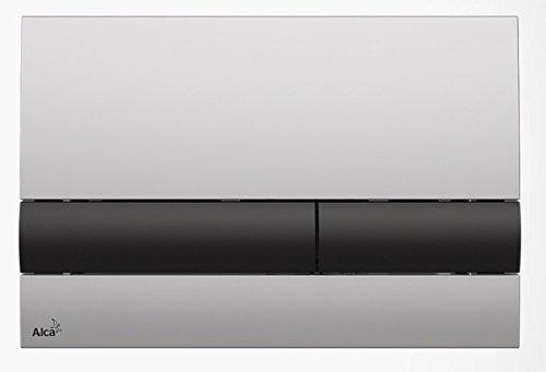 WC Vorwandelement für Trockenbau 100 cm inklusive Betätigungsplatte Chrom Matt/ Schwarz Unterputzspülkasten Spülkasten Wand WC hängend Schallschutz
