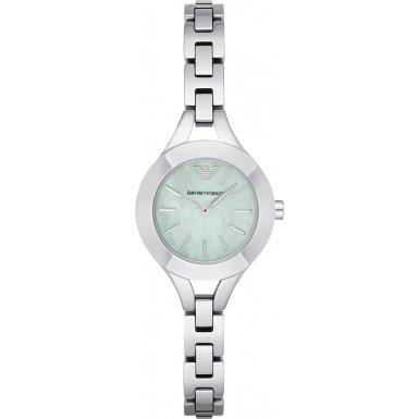 Emporio Armani AR7416 Ladies Chiara Silver Steel Bracelet Watch