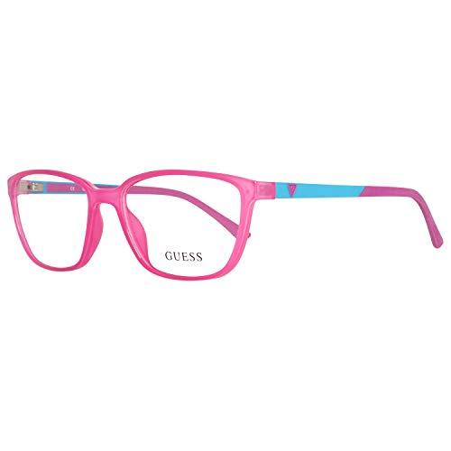 Guess Damen Brille Gu2496 072 54 Brillengestelle, Rosa,