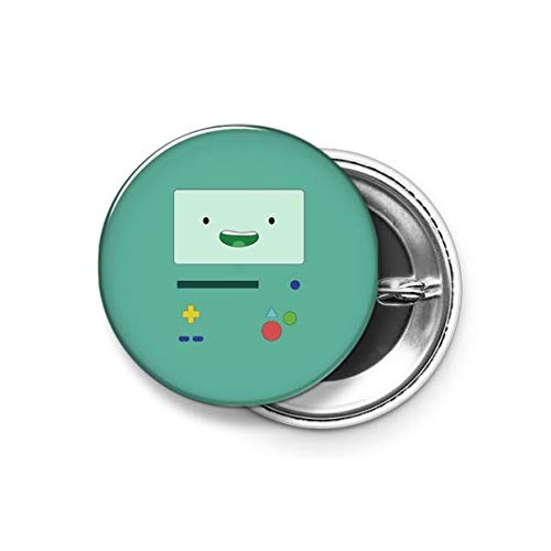 Shopsmeade® Adventure Time - Beemo Round Pin Button Badge