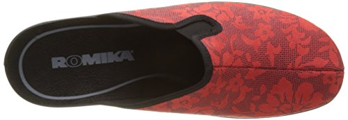 ROMIKA Remo 402, Chaussons Mules Femme Rouge (Rot)