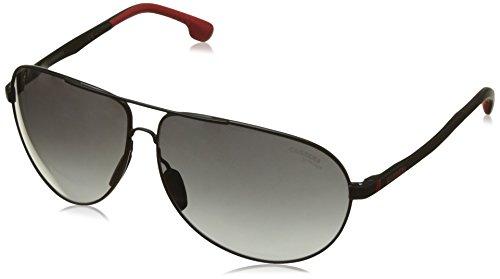 Carrera Unisex-Erwachsene 8023/S 9O Sonnenbrille, Schwarz (Matt Black), 65