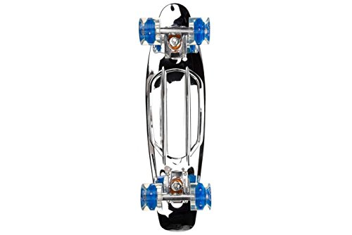Sunset Skateboards, chrom 55,9 cm komplett silber -