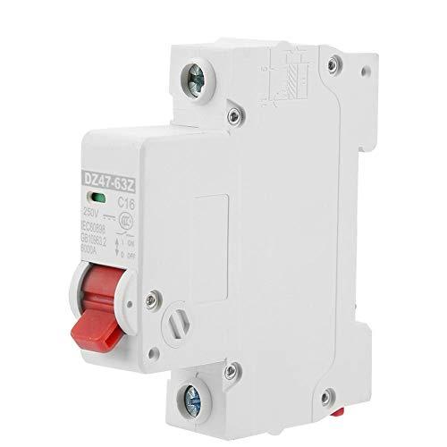 Leistungsschalter 16A Photovoltaik DC Kompakter Leitungsschutzschalter Schutz vor Luftverlust DZ47-63Z-1P