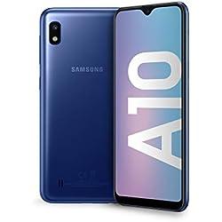"Samsung Galaxy A10 Display 6.2"", 32 GB Espandibili, RAM 2 GB, Batteria 3400 mAh, 4G, Dual SIM Smartphone, Android 9 Pie, (2019) [Versione Italiana], Blue"