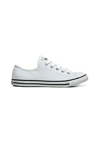 Converse - Comme Un Bœuf Mignon, Sneakers Da Donna Bianco (whitewhite)