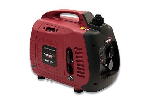 PMi 2000 Inverter Stromerzeuger / Generator, 230 V, 1500 W, 4-Takt OHV Motor (Benzin), Nennleistung: 2.3 kW, Betriebszeit bei 75 Prozent Last: 5 h (Powermate Generator)