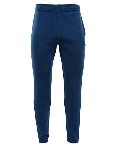 Nike Jumpman Brushed WC PANT–Herren Hose XXL blau / schwarz (French Blue/Black) (Hose Terry Plüsch)