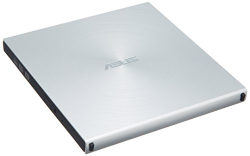 ASUS SDRW-08U5S-U/SIL/G/AS - Asus SDRW-08U5S-U/SIL/G/AS External DVDReWriter USB2 Ultra Slim Retail boxed with Power2Go v8 s/w 90-DD0112-M200000 Asus Storage