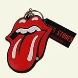 Rolling Stones Schlüsselanhänger Zungen Logo aus Weichgummi in 3D-Optik Rubber Tongue Keyring