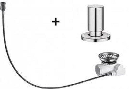 Preisvergleich Produktbild Blanco Nachrüst-Set rund Edelstahl Exzenterbetätigung Excenter Zubehör Spüle