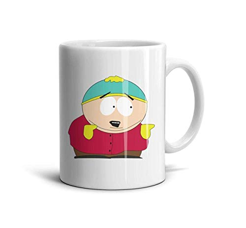 White South-Park-Mug Klassische Kaffeetasse Water School Keramikbecher Porzellan, White-24