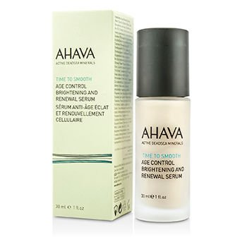 Ahava - Time To Smooth Age Control Brightening and Renewal Serum 30ml/1oz