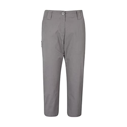 31ICBVZ1waL. SS500  - Mountain Warehouse Coast Stretch Womens Capris - Lightweight Capri Pants, Durable Fabric Winter Trousers, Easy Pack Bottoms - Ideal for Travelling, Walking & Hiking